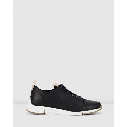 Tri Spark - Women's Black Nubuck by Clarks