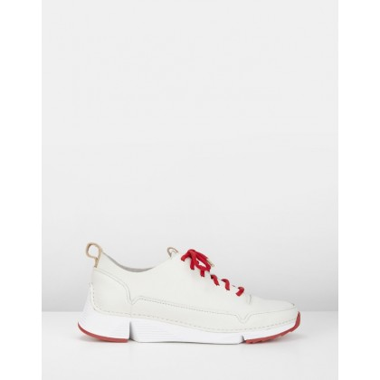 Tri Spark - Women's White/Red by Clarks