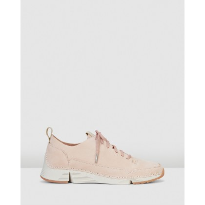 Tri Spark Womens Light Pink by Clarks