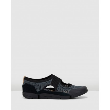 Tri Tone. Black Combo by Clarks