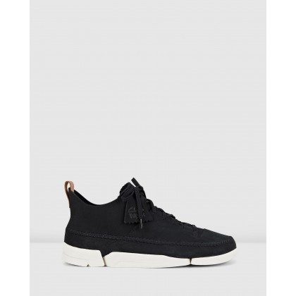 Trigenic Flex - Men's Black Nubuck by Clarks