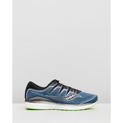 Triumph ISO 5 - Men's Steel & Black by Saucony