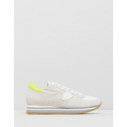 Tropez Higher - Women's Neon Blanc Jaune by Philippe Model