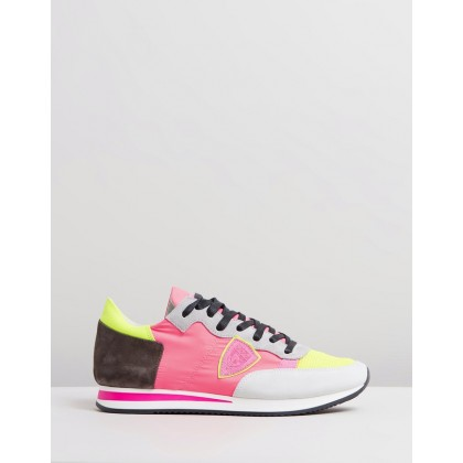 Tropez Sneakers Neon Multi by Philippe Model