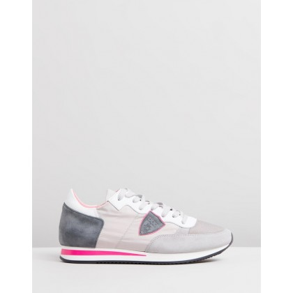 Tropez Sneakers White & Grey by Philippe Model