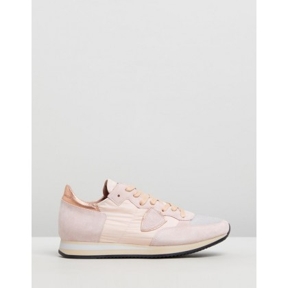 Tropez Sneakers Mondial Rose by Philippe Model