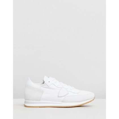 Tropez Sneakers Basic Blanc Blanc by Philippe Model