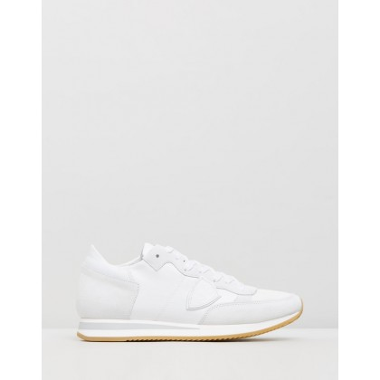 Tropez Sneakers Veau Blanc by Philippe Model