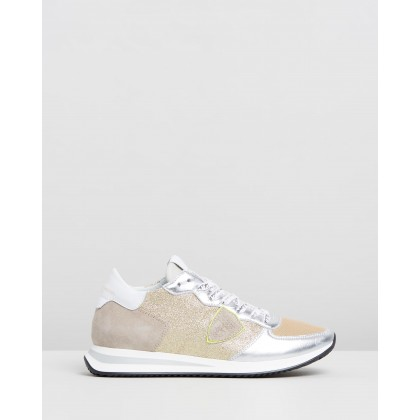 TZLD Sneakers Silver & Gold Glitter by Philippe Model