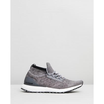 ultraBOOST All Terrain - Men's Grey Three & Grey Six by Adidas Performance