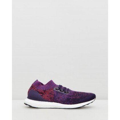 UltraBOOST Uncaged - Men's Legend Purple, Active Blue & Shock Red by Adidas Performance