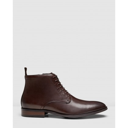 Utah Chukka Boots Brown by Aq By Aquila