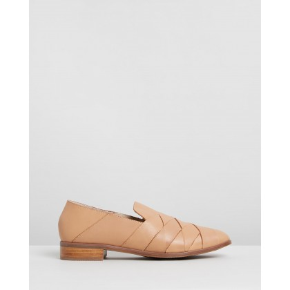 Vallery Flats Tan by Walnut Melbourne