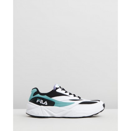 Venom Sneakers - Men's Black, Blue Curacoa & Violet Tulip by Fila
