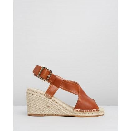 Vera Wedges Tan by Walnut Melbourne