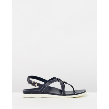 Veranda Backstrap Sandals Navy by Vionic