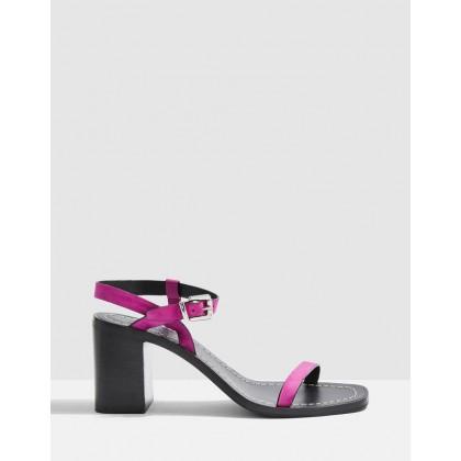 Verge Sandals Pink by Topshop