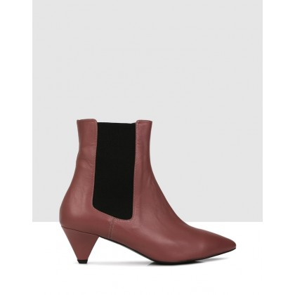 Victoria Ankle Boots 109 Pink by Sempre Di