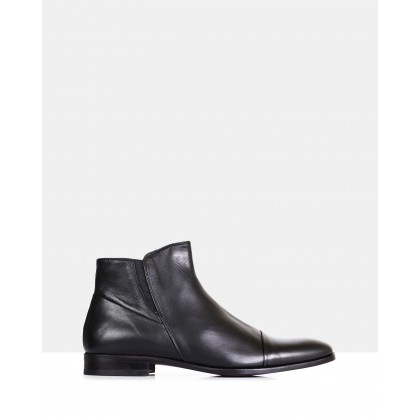 Vito Ankle Boots Black by Brando