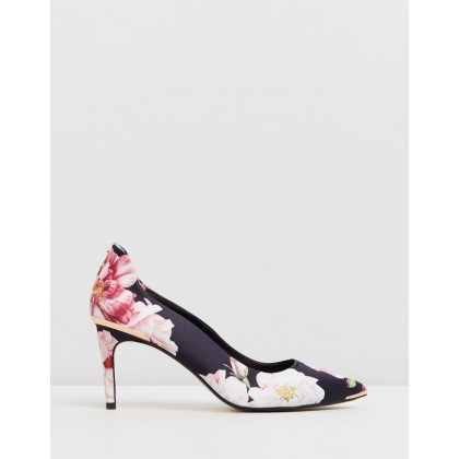 Viyxinp 2 Black Iguazu Satin by Ted Baker