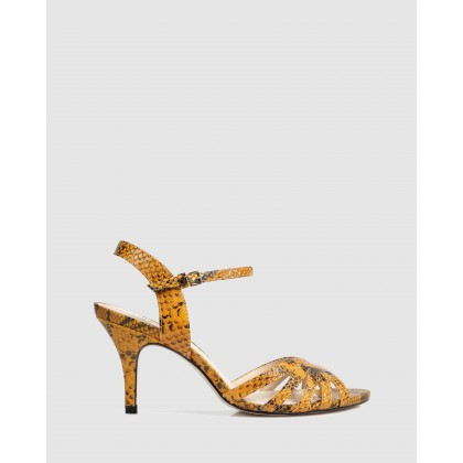 Walda Heeled Sandals Amarel by Sempre Di