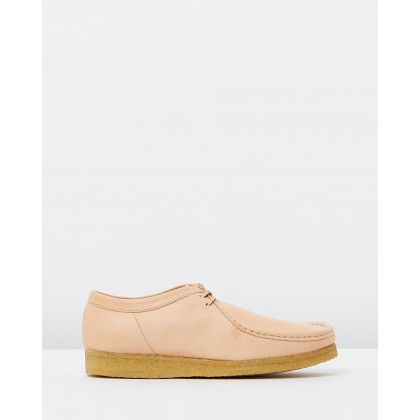 Wallabee Natural Tan Leather by Clarks Originals