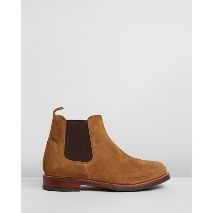 Warren Snuff Suede by Grenson