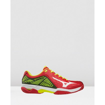 Wave Exceed 2 - Men's Mars Red / White by Mizuno