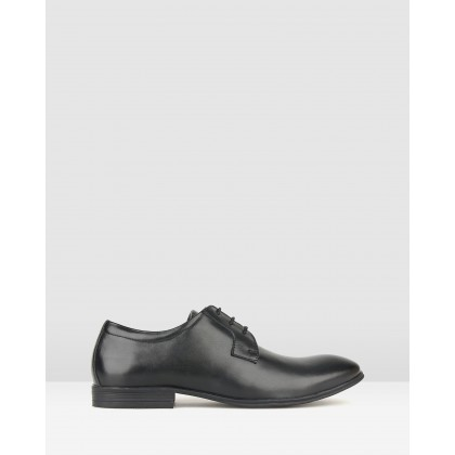 Wesley Leather Dress Shoes Black by Airflex