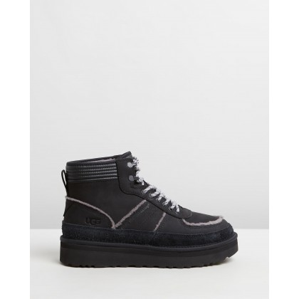 White Mountaineering x UGG Snow Boots Black by White Mountaineering