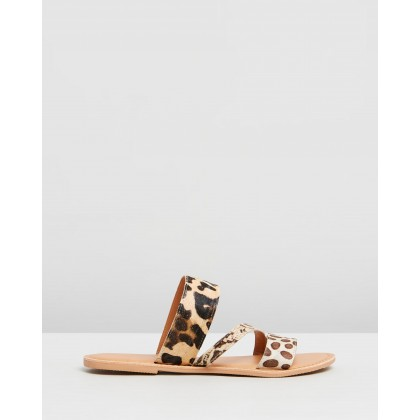 Wide Fit Jasmine Sandals Animal by Dorothy Perkins