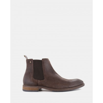 Winton Chelsea Boots Dark Brown by Wild Rhino
