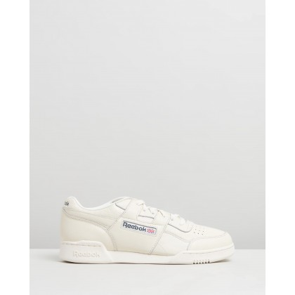 Workout Plus - Unisex Classic White & Blue Hills by Reebok