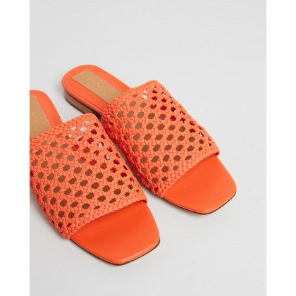 Wove Flats Orange by Jaggar The Label