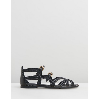 Woven Sandals Black by See By Chlo??