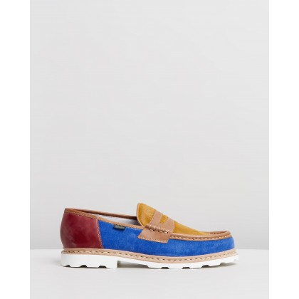 X Paraboot Loafers Patchwork by Bleu De Paname