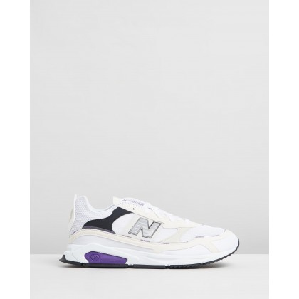 X-Racer White & Purple by New Balance Classics
