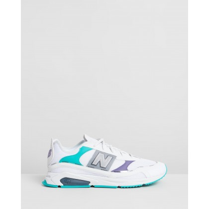 X-Racer - Men's White & Purple by New Balance Classics
