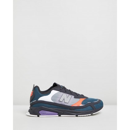 X-Racer - Men's Black & Blue by New Balance Classics