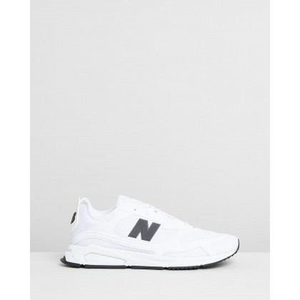 X-Racer - Men's White & Black by New Balance Classics