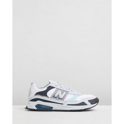 X-Racer - Women's Grey & Green by New Balance Classics