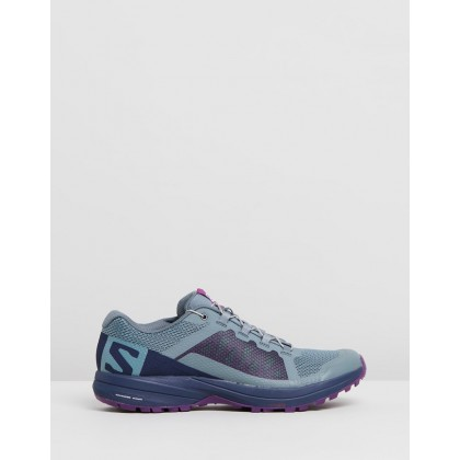 XA Elevate - Women's Weather, Evening Blue & Purple Magic by Salomon