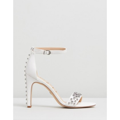 Yoshi Bright White Leather by Sam Edelman