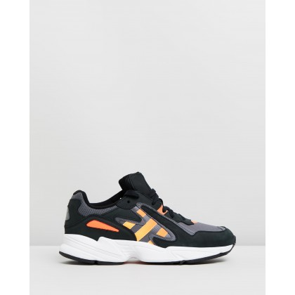 Yung-96 Chasm - Unisex Core Black, Semi Coral & Solar Red by Adidas Originals