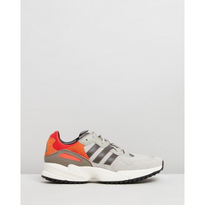 Yung 96 Trail - Men's Sesame, Trace Grey & Off White by Adidas Originals