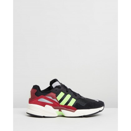 Yung-96 - Unisex Core Black, Solar Green & Collegiate Burgundy by Adidas Originals