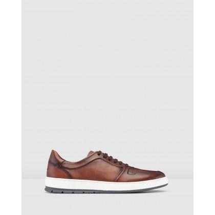 Zaniolo Sneakers Tan by Aquila