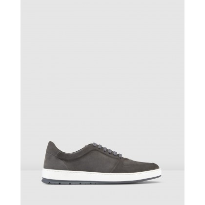 Zaniolo Sneakers Nubuck Slate by Aquila