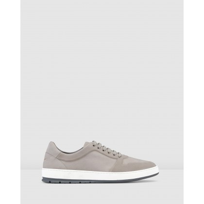 Zaniolo Sneakers Nubuck Light Grey by Aquila