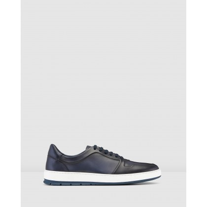 Zaniolo Sneakers Navy by Aquila